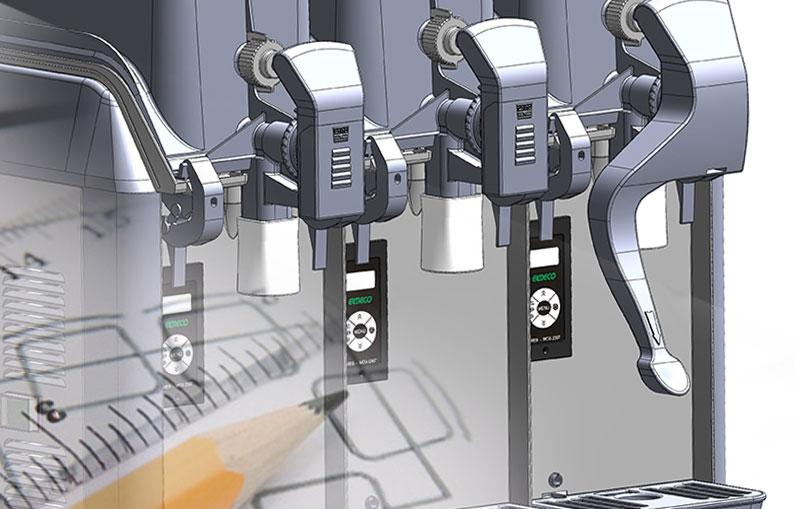 Immagine progettazione macchinari