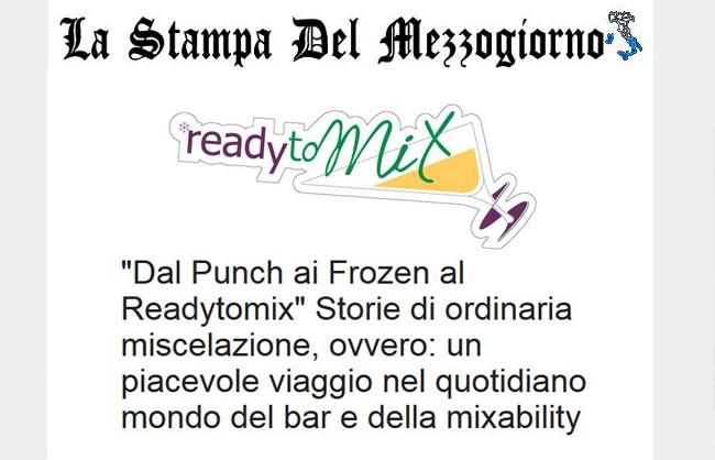 Dal Punch ai Frozen al Ready to Mix
