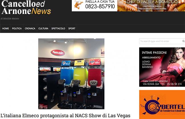 Elmeco al NACS show di Las Vegas