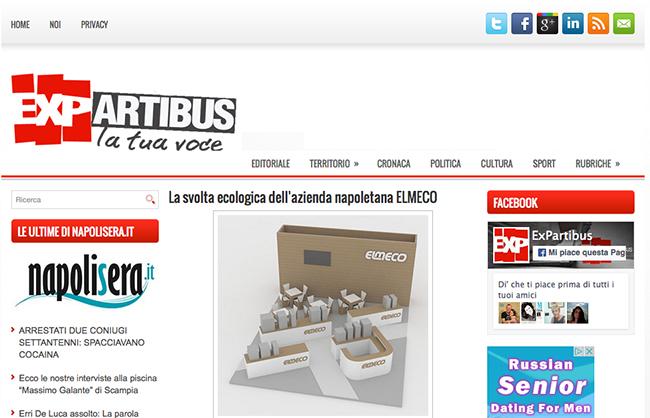 """La svolta ecologica di Elmeco per """"EXP Artibus"""""""