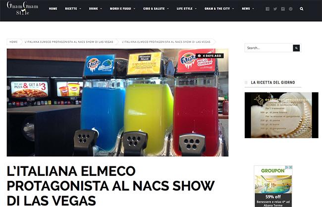 Al NACS show di Las Vegas protagonista la Elmeco