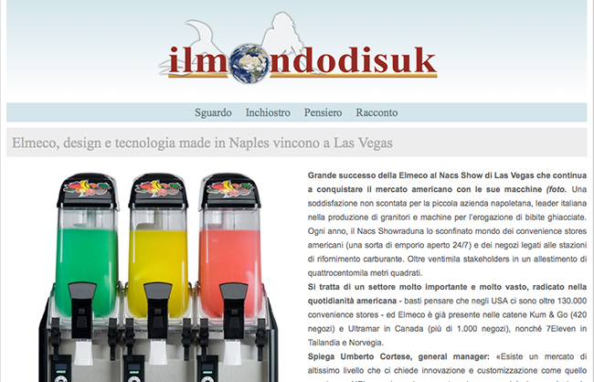 Elmeco, design e tecnologia made in Naples vincono a Las Vegas