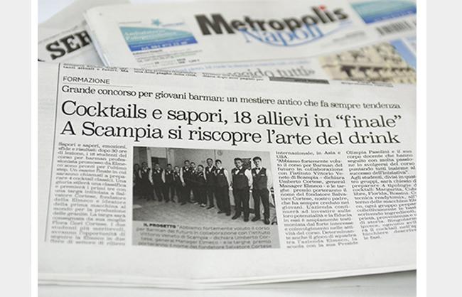 Cocktails e Sapori. A scampia si riscopre l'arte del mix.